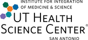 Institute for Integration of Medicine and Science logo, UT Health Science Center San Antonio