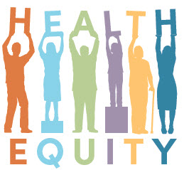 Health equity logo for CE Symposium