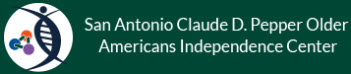 San Antonio Claude D. Pepper Older Americans Independence Center Logo