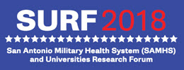 San Antonio Military Health Systems and Universities Research Forum logo