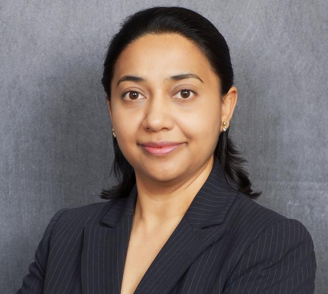 Photo of Swati Banerjee, M.S., Ph.D.