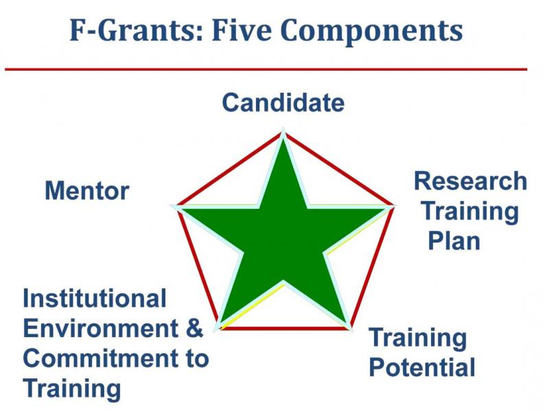 Five Components of F-Grants