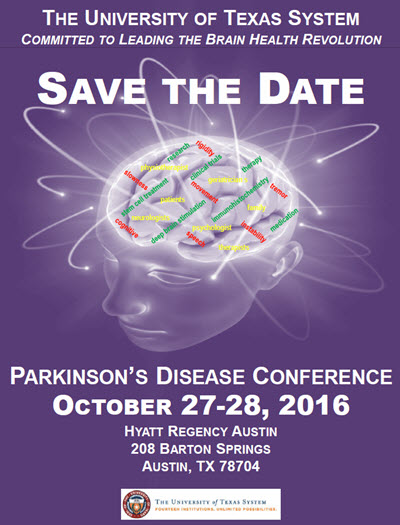 ut system parkinson s disease conference save the date institute