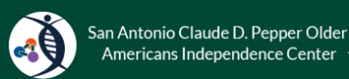 San Antonio Claude D Pepper Older Americans Independence Center Logo